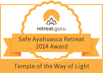 Safe Ayahuasca Retreat 2014 Award