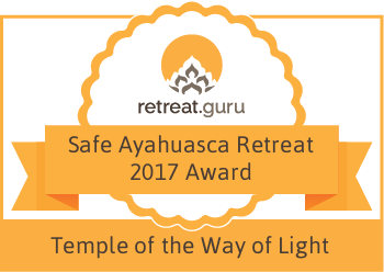 2017 Safe Ayahuasca Retreat Award