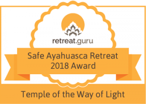 Safe Ayahuasca Award